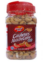 Dan D Pak Unsalted Cashew Nuts 454g`